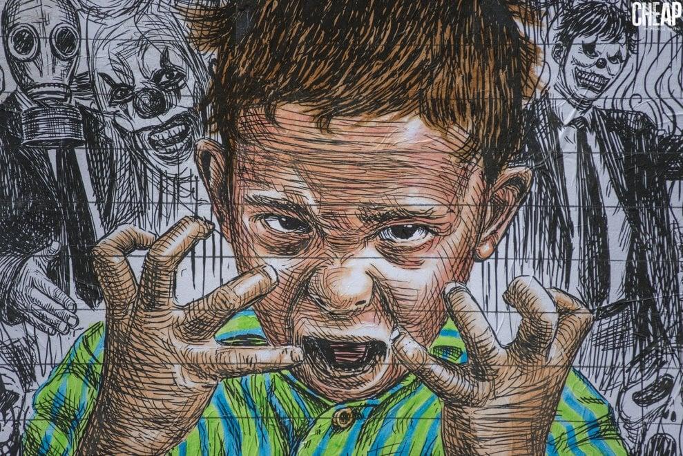 A Cheap l'infanzia fra finzione e realtà: a Bologna l'opera del giovane artista greco Stmts