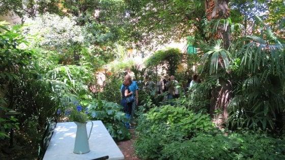 """Gioielli segreti da scoprire: """"Diverdeinverde"""" svela i giardini privati di Bologna"""