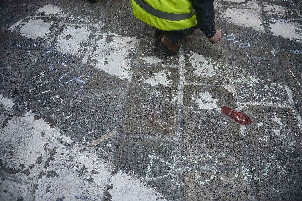 Bologna, tremila nomi sull'asfalto per ricordare i pedoni travolti