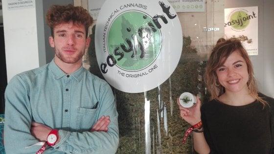 È marijuana ma non sballaSul mercato da sei giorni, boom di ordini