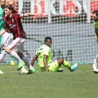 Il Bologna resiste 70 minuti, poi il Milan dilaga
