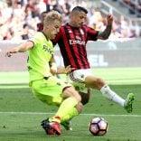 Il Bologna resiste 70 minuti  poi il Milan dilaga: 3-0