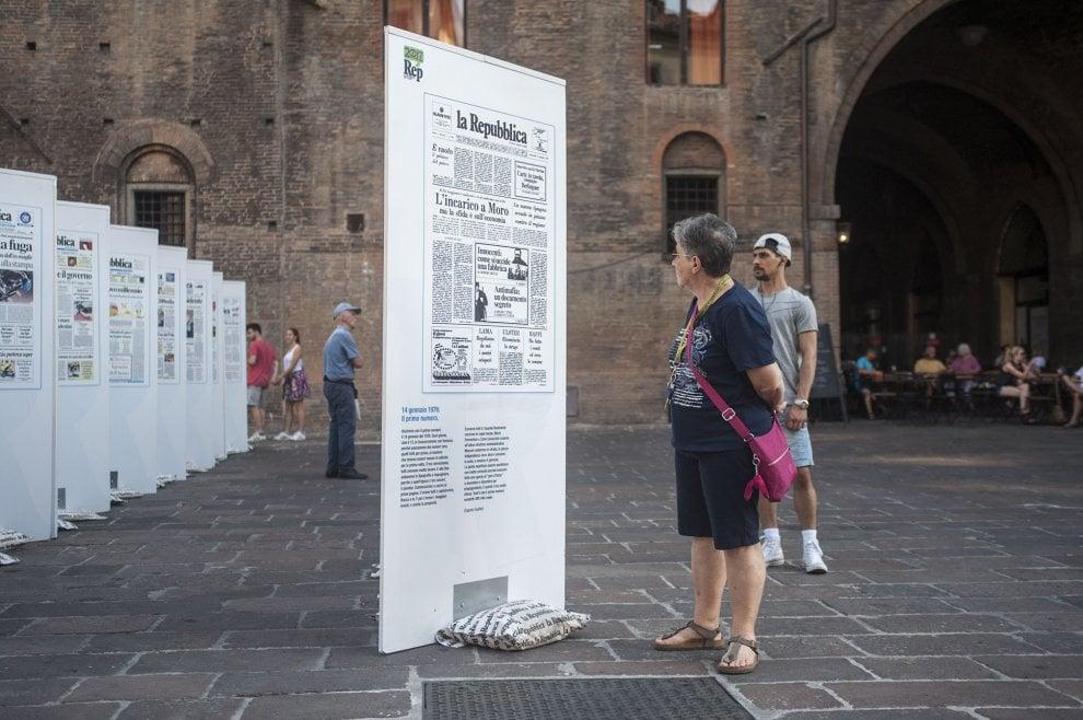 Repubblica delle idee a Bologna, in mostra le prime pagine storiche