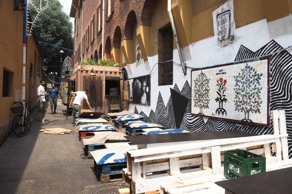 Bologna, prende forma il Guasto village: comincia l'estate in zona universitaria