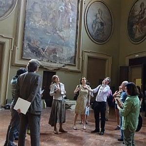 Bologna riscopre Palazzo Pallavicini, nel Settecento vi suonò Mozart in autunno lo anima Milo Manara