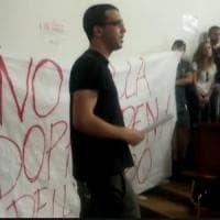 Ateneo Bologna: lo studente sospeso del Cua rompe il divieto e si presenta