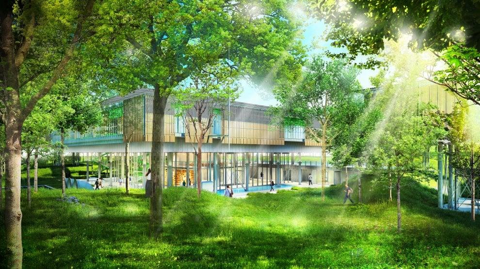 Curarsi in una casa sull'albero: l'hospice pediatrico di Bologna disegnato da Renzo Piano