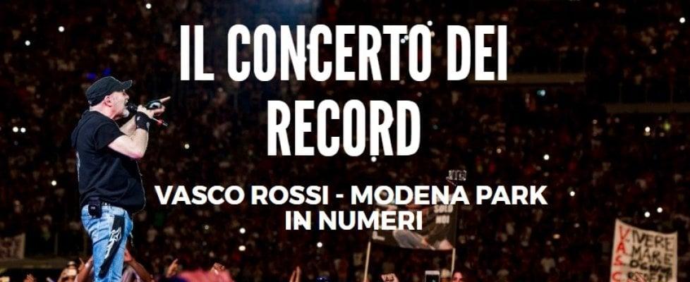 Conto alla rovescia per il megaconcerto di Vasco Rossi a Modena: tutti i numeri di evento epocale
