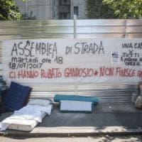 Casa Bologna, sgombero in via Gandusio: 43 denunciati