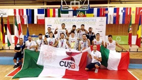 Basket universitario, Bologna campione d'Europa: prima volta per un ateneo italiano