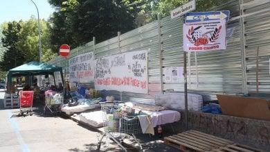 """Via Gandusio, un """"muro"""" per proteggere  le case Acer: """"Qui troppa delinquenza""""   Ft"""