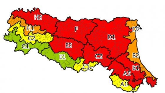 Allerta calore sempre più alta sull'Emilia-Romagna