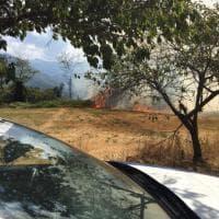 Incendio in Appennino modenese, evacuata una frazione di Fanano