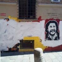 Bologna, murales di nuovo imbrattati in piazza Verdi nella notte di Ferragosto