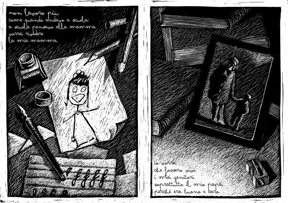 Bologna, i disegni raccontano gli anziani che soffrono di demenza