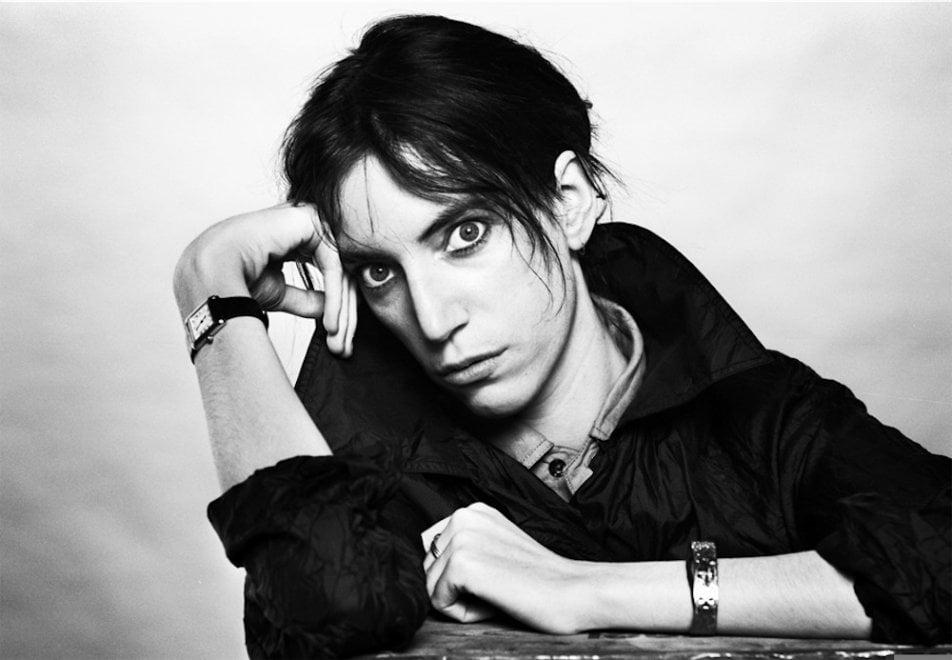 Per la prima volta in Italia, a Bologna, gli scatti dell'incontro tra la poetessa del rock e Gijsbert Hanekroot