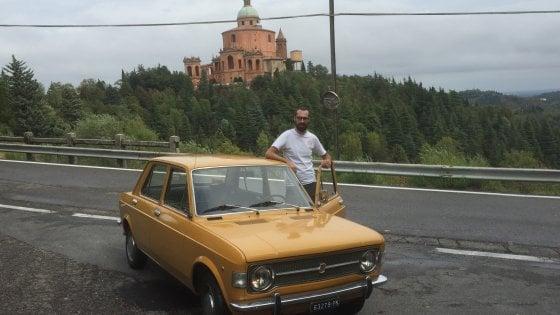 Sui colli bolognesi con l'auto d'epoca (dopo aver fatto il giro d'Italia)
