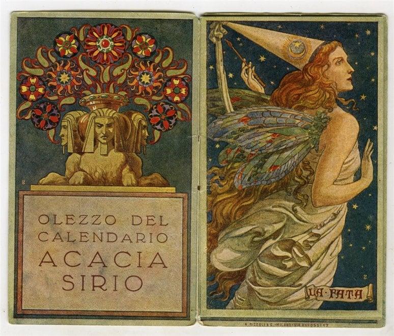 """A Modena """"L'arte in tasca. Calendarietti, réclame e grafica 1920-1940"""""""
