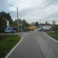 Lo scuolabus fa un incidente, nel Bolognese 28 bimbi in ospedale per accertamenti