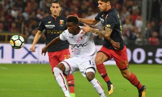 Palacio benedice il Bologna, Genoa battuto a Marassi 0-1