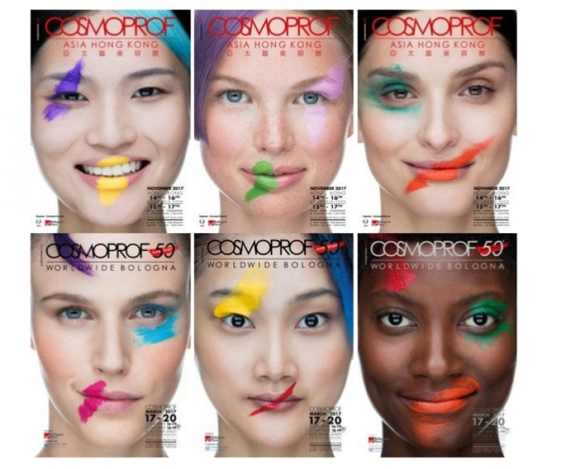 Cosmoprof worldwide, la campagna pubblicitaria di Toscani è la migliore del mondo