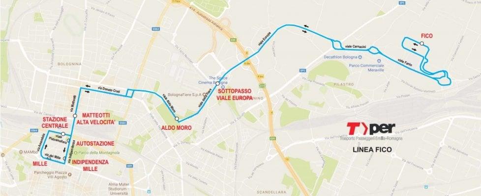 Bologna punta su bus ibridi e piste ciclabili per raggiungere Fico