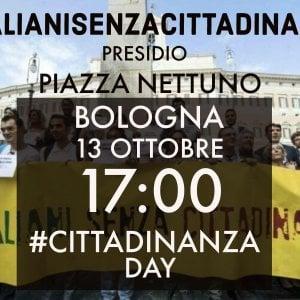 """Anche a Bologna """"Italiani senza cittadinanza"""" in piazza per lo Ius soli"""