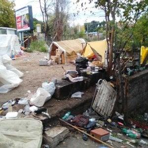 Bologna, sgomberata baraccopoli