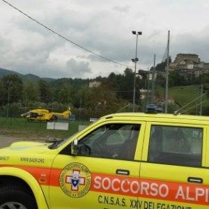 Reggio, incidente a mezzo di soccorso sull'Appennino
