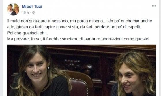 """L'ira della sindacalista bolognese Cgil contro il ministro Madia: """"Un po' di chemio anche a te..."""""""