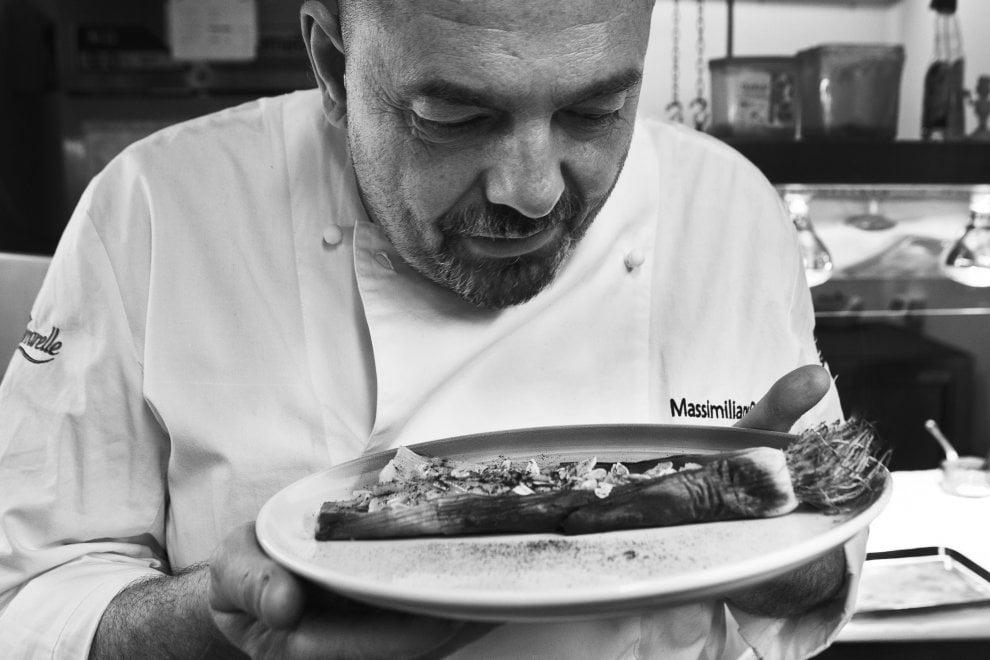 """""""A me i fuochi"""", quando la fotografia incontra la cucina: 14 ritratti di chef in mostra a Bologna"""