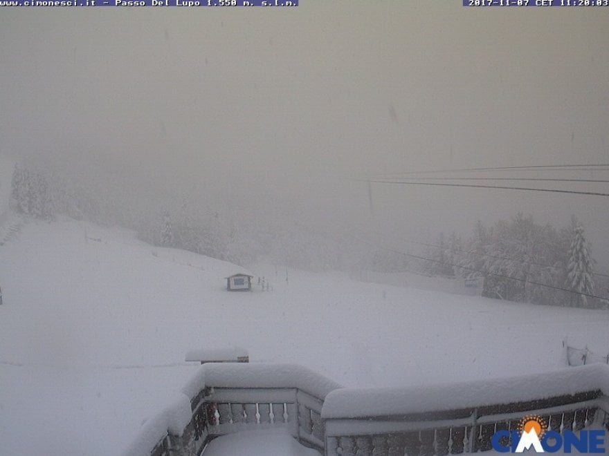 Emilia-Romagna, finalmente tanta neve in montagna