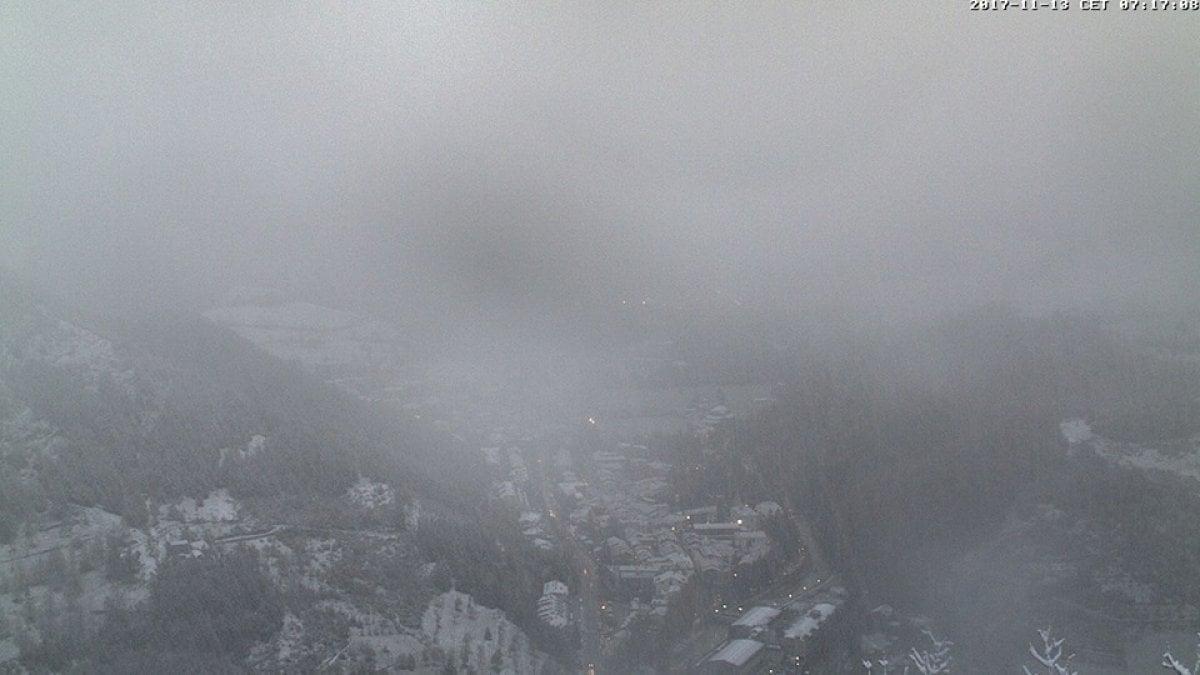 Maltempo piove e nevica su tutta l 39 emilia romagna - Previsioni bagno di romagna ...