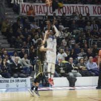 Fortitudo, vittoria tranquilla su Bergamo: 68-62