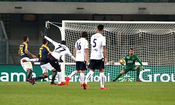 Bologna, due minuti di sana follia: sorpasso a Verona con Okwonkwo e Donsah 2-3