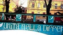 """Nuovo murale alle scuole Federzoni: """"Unità nella differenza"""" -  foto"""