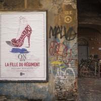 Sui muri di Bologna le arie del teatro Comunale. Firmate da un writer