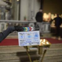 Bologna, nella chiesa di S.Maria della Vita le riprese del film di Gregorio Sassoli