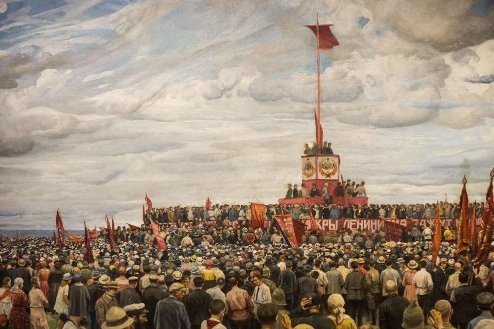 Da Chagall a Malevich, la rivoluzione russa in mostra a Bologna