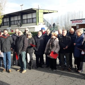 La protesta antifascista non ferma il Borgo Panigale, Luppi gioca col numero 7