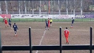 La protesta antifascista non ferma il calcio A Borgo Panigale Luppi gioca col numero 7