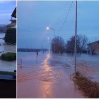 Maltempo, esonda l'Enza: evacuata Lentigione. Modena, tracima il Secchia: