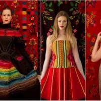 Trame e tessuti fra Occidente e Oriente: la moda estone in mostra a Bologna