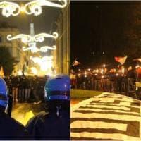 L'estrema destra contro lo Ius soli, antagonisti in corteo: alta tensione a Modena