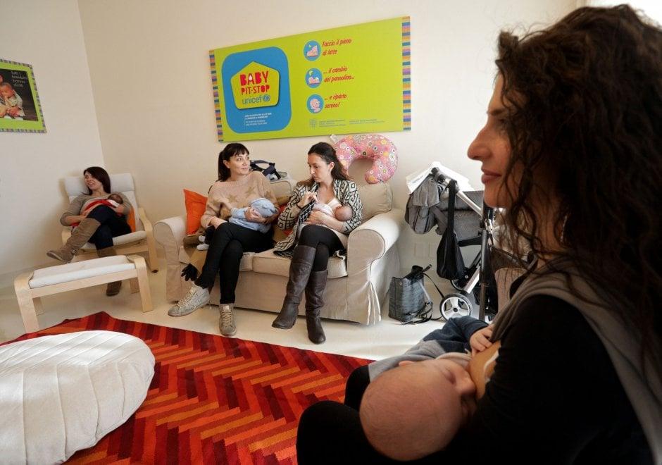 All'ospedale Maggiore di Bologna apre il Baby pit stop per mamme e lattanti