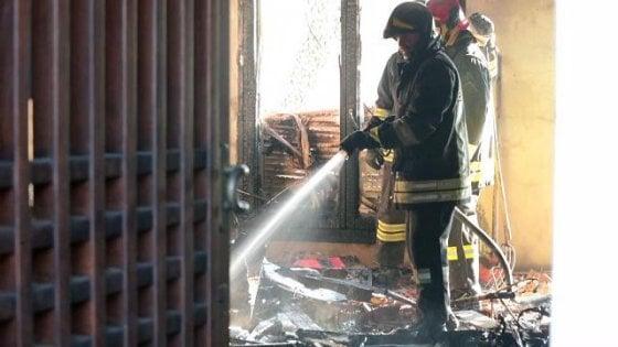Incendi: donna muore nel Ferrarese