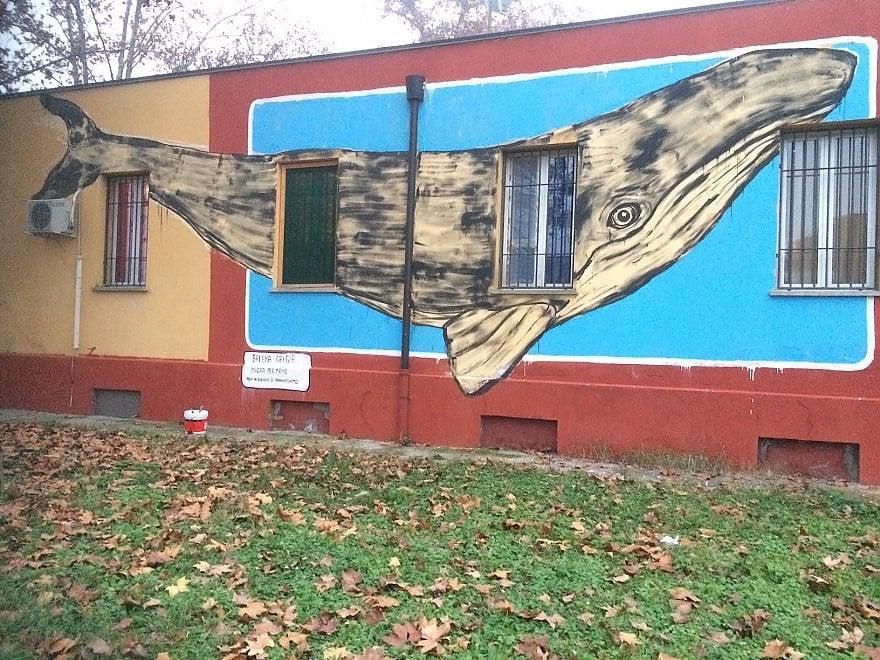 """Crociata anti murales a Reggio. Salta il """"Piccolo museo dei migranti"""""""