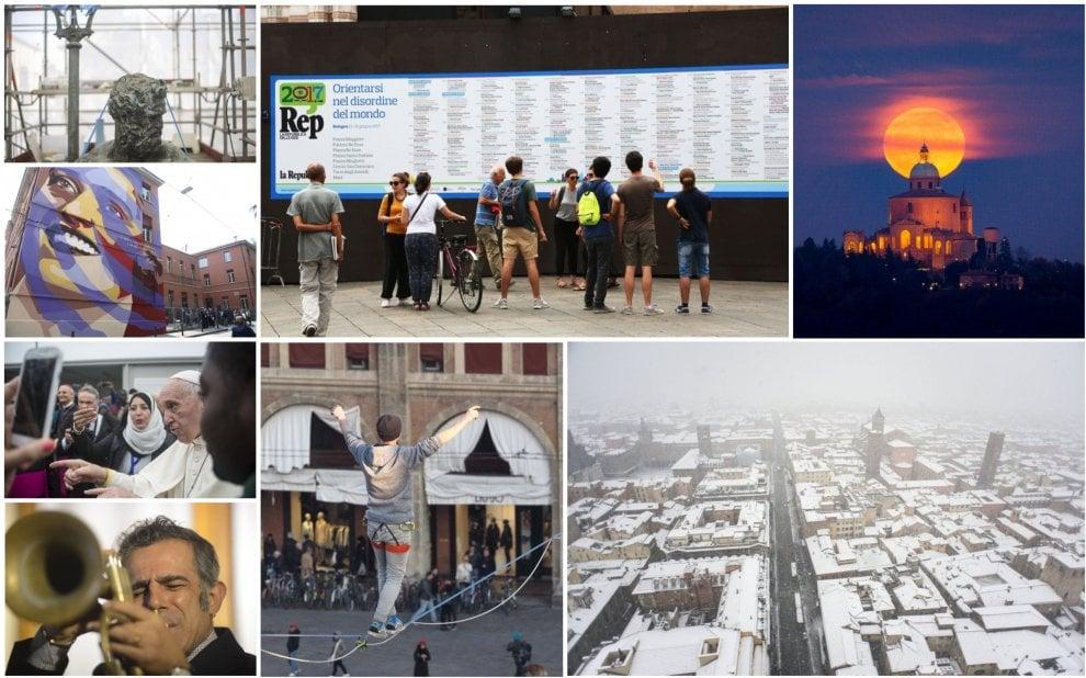 Un anno in 50 scatti, il 2017 raccontato da Repubblica Bologna