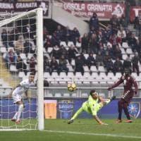 Il peggior Bologna della stagione fa rinascere il Toro: 3-0. Donadoni:
