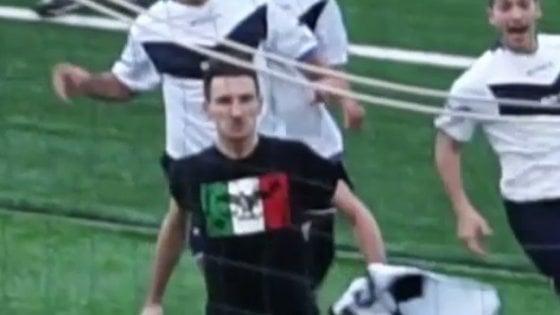 Fece il saluto romano in campo a Marzabotto: deferito il calciatore Luppi